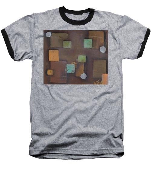 'geometric' Baseball T-Shirt