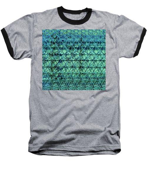 Geometrical Steel Baseball T-Shirt