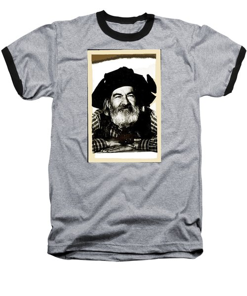 George Hayes Portrait #1 Card Baseball T-Shirt by David Lee Guss