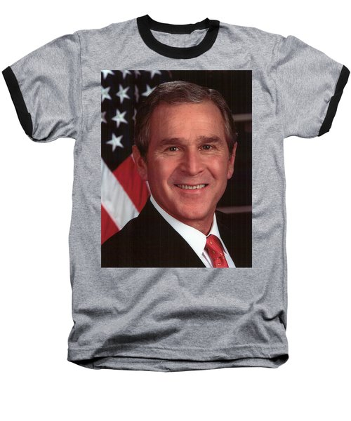 George W Bush Baseball T-Shirt