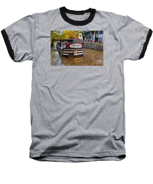 Georgetown Barge Baseball T-Shirt