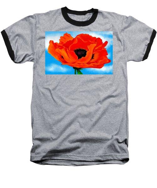 Georgia In The Sky Baseball T-Shirt