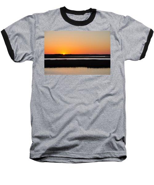 Georgia Sunset Baseball T-Shirt