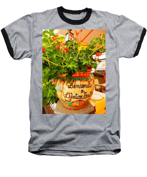 Geranium Planter Baseball T-Shirt