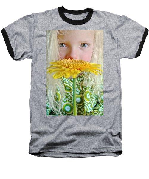 Gerbera Girl Baseball T-Shirt