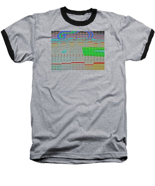 German Cityscape Baseball T-Shirt