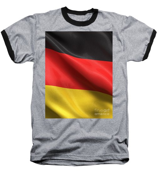 Baseball T-Shirt featuring the photograph Germany Flag by Carsten Reisinger