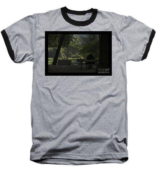 Romantic Moments Baseball T-Shirt by Kiran Joshi