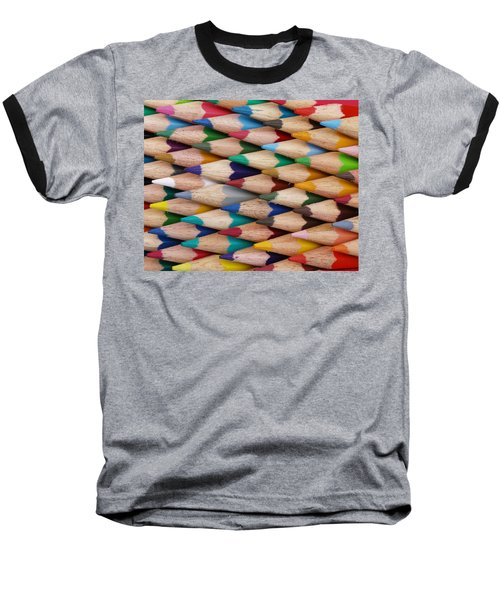 Get The Point Baseball T-Shirt by Ron Harpham