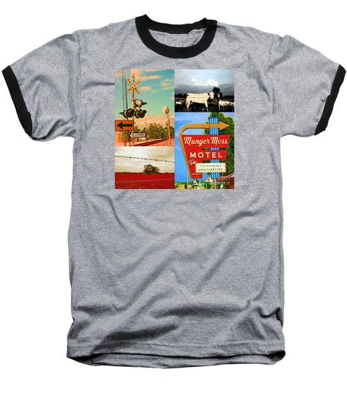 Getting My Kicks On Route 66 Baseball T-Shirt