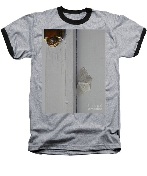 Ghost Doorbell Moth Baseball T-Shirt