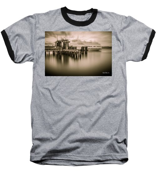 Ghost Ferry Baseball T-Shirt