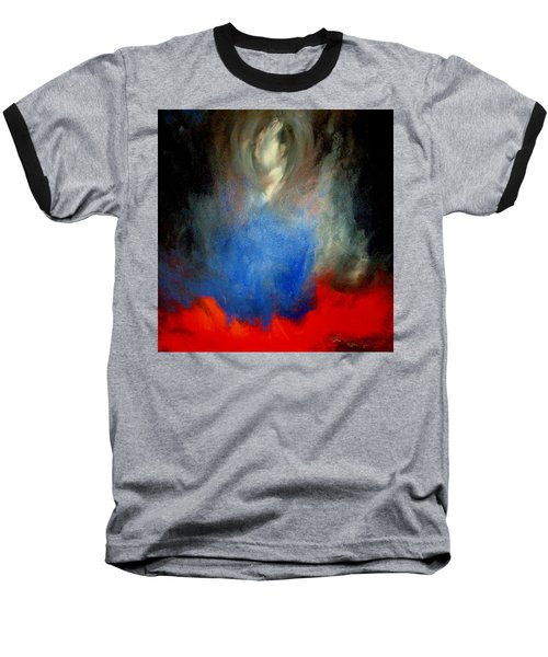 Baseball T-Shirt featuring the painting Ghost by Lisa Kaiser