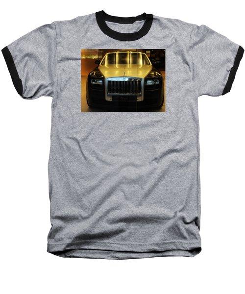 Rolls Royce Ghost Baseball T-Shirt by Salman Ravish