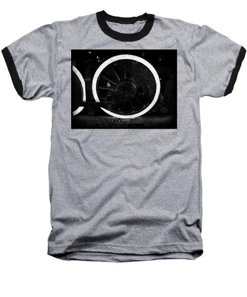 Steam Powered Baseball T-Shirt by Aaron Berg