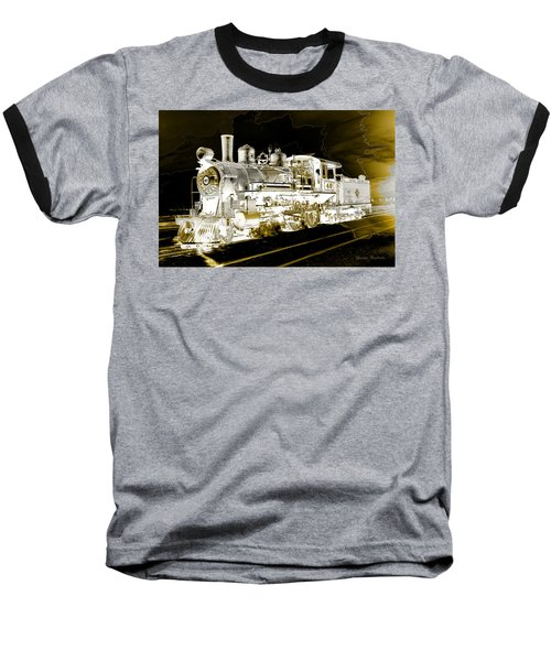 Ghost Train Baseball T-Shirt