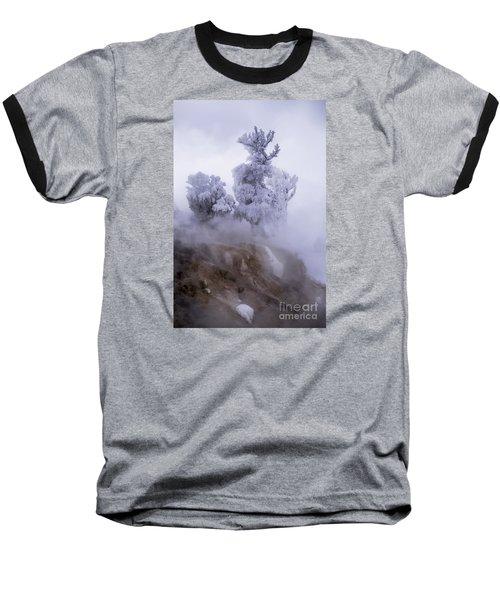 Ghost Tree Baseball T-Shirt