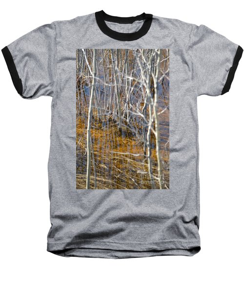 Baseball T-Shirt featuring the photograph Ghost Willows by Brian Boyle