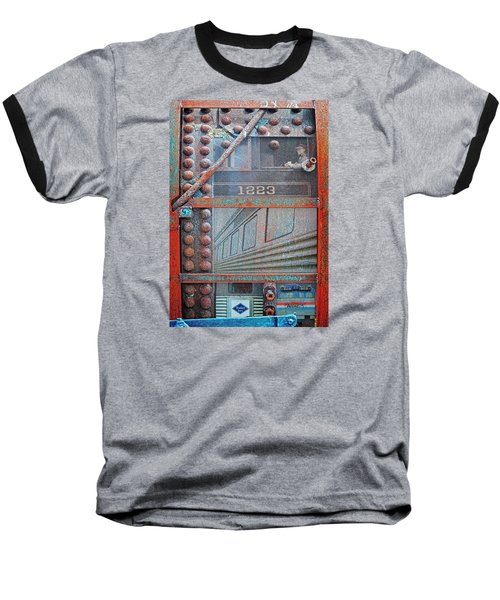 Ghosts Of The Railroad Baseball T-Shirt