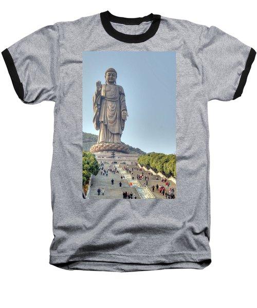 Giant Buddha Baseball T-Shirt