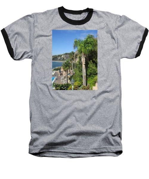Giant Palm Baseball T-Shirt by Vivien Rhyan