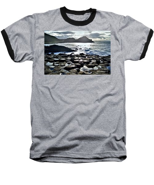 Giant's Causeway Sunset Baseball T-Shirt