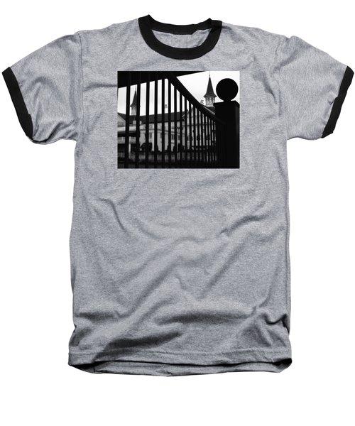 Giddyup Baseball T-Shirt by Robert McCubbin