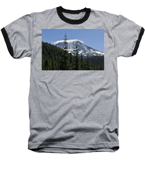 Gifford Pinchot National Forest And Mt. Adams Baseball T-Shirt by Tikvah's Hope