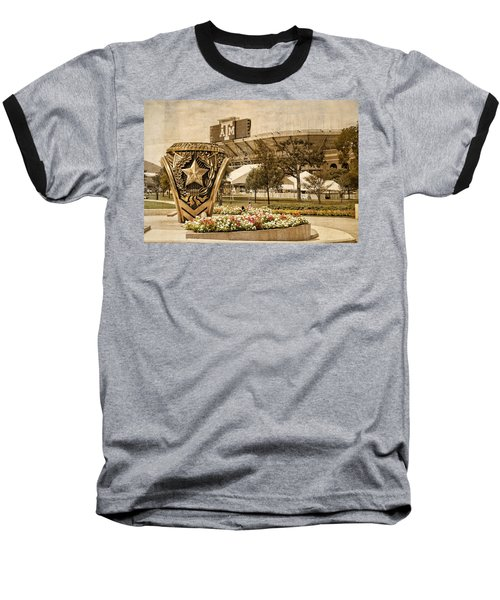 Gig'em Baseball T-Shirt by Dave Files