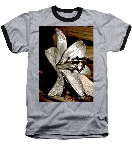 Gilded Lilies 3 Baseball T-Shirt