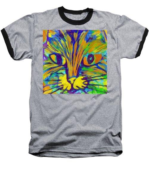 Ginger Kitty Baseball T-Shirt
