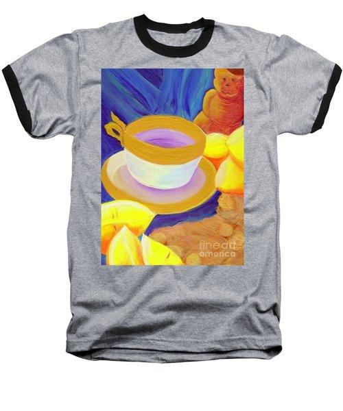 Ginger Lemon Tea By Jrr Baseball T-Shirt