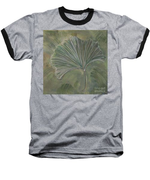 Ginko Leaf Baseball T-Shirt