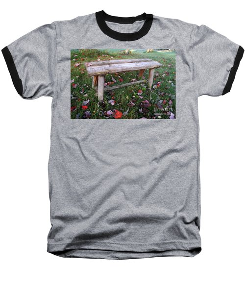 Ginny's Bench Baseball T-Shirt