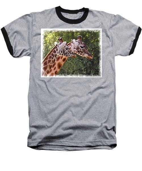 Giraffe 03 Baseball T-Shirt