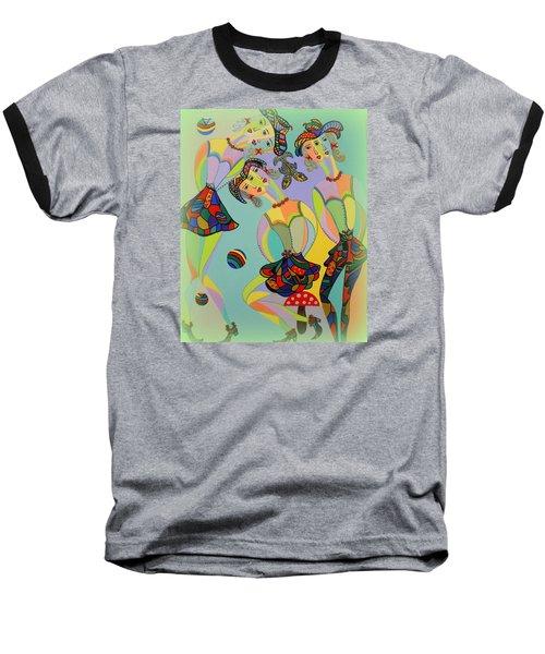 Girls Fantasy Baseball T-Shirt by Marie Schwarzer