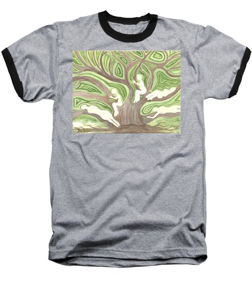 Girls In A Tree Baseball T-Shirt