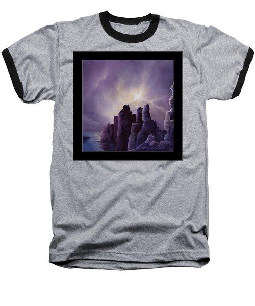 Girnigoe Castle Baseball T-Shirt