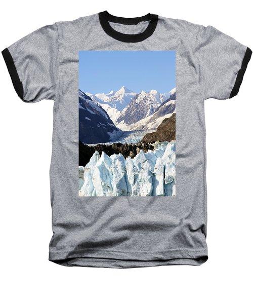 Baseball T-Shirt featuring the photograph Glacier Bay Alaska by Sonya Lang