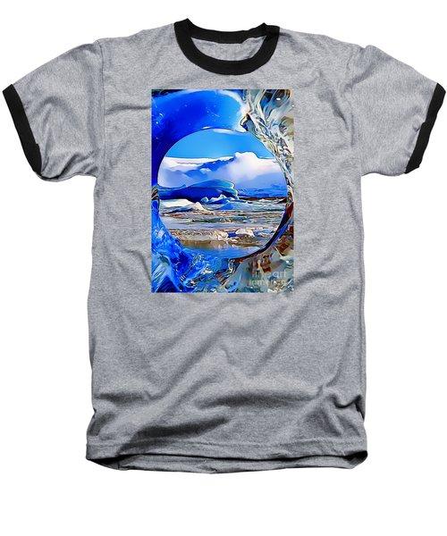 Glacier Baseball T-Shirt