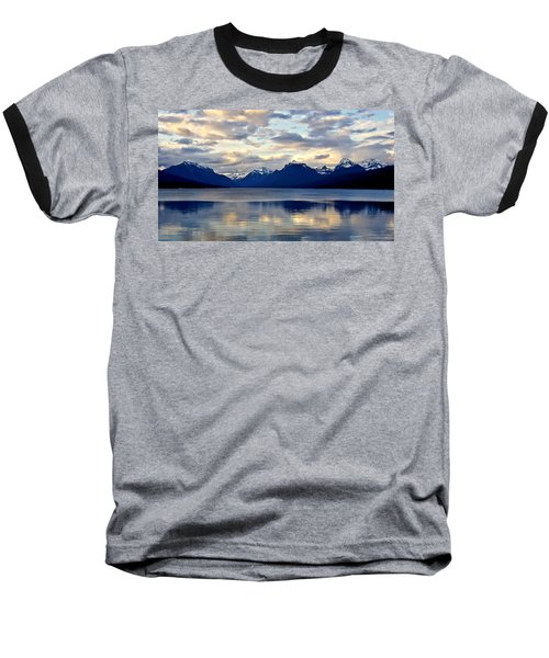 Glacier Morning Baseball T-Shirt