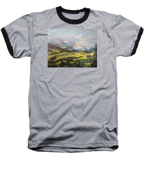 Glacier Splendor Baseball T-Shirt