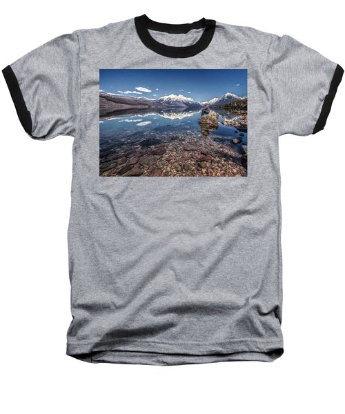 Glacier Zen Baseball T-Shirt