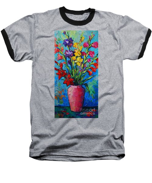 Gladioli In A Vase Baseball T-Shirt
