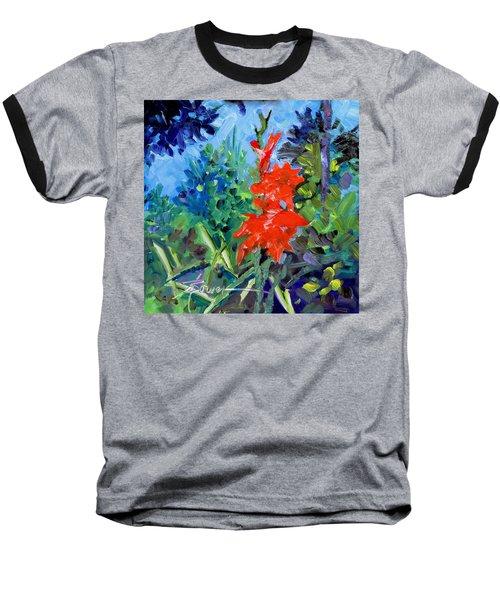 Gladiolus Baseball T-Shirt