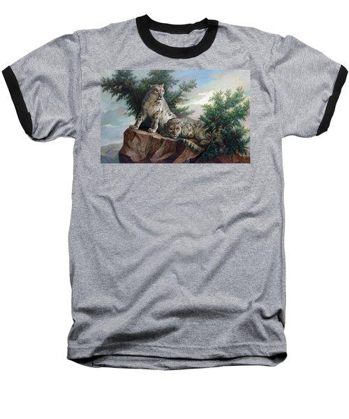 Glamorous Friendship- Snow Leopards Baseball T-Shirt