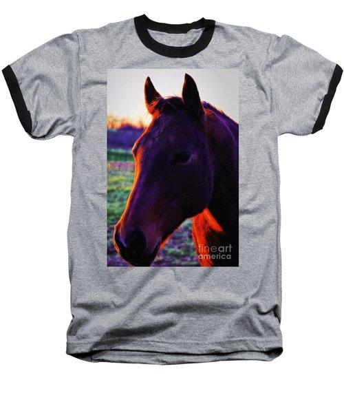 Glamour Shot Baseball T-Shirt
