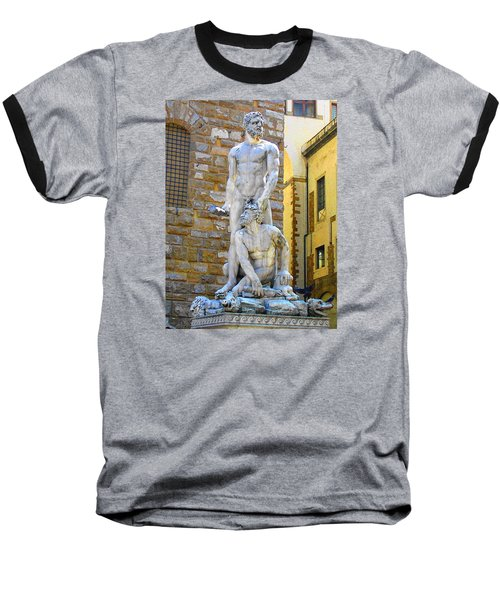 Glance At Hercules And Casus Baseball T-Shirt by Oleg Zavarzin