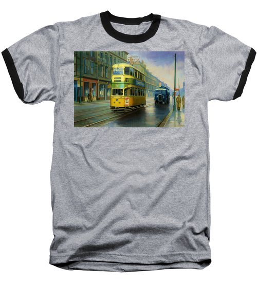 Glasgow Tram. Baseball T-Shirt