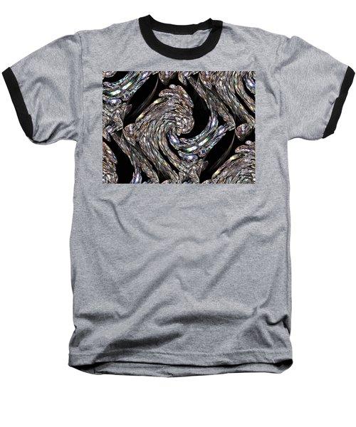 Glass Bird Baseball T-Shirt by Kristin Elmquist